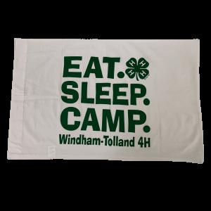 4-H camp pillowcase